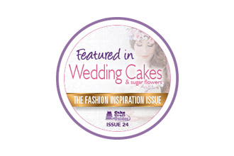 featured in wedding cakes and sugar flowers