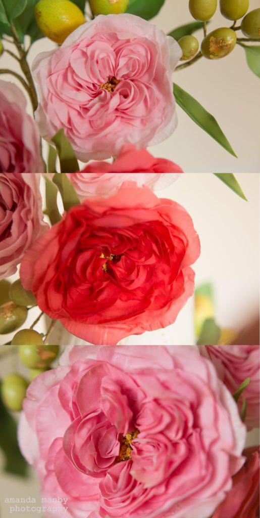 sugar damask roses