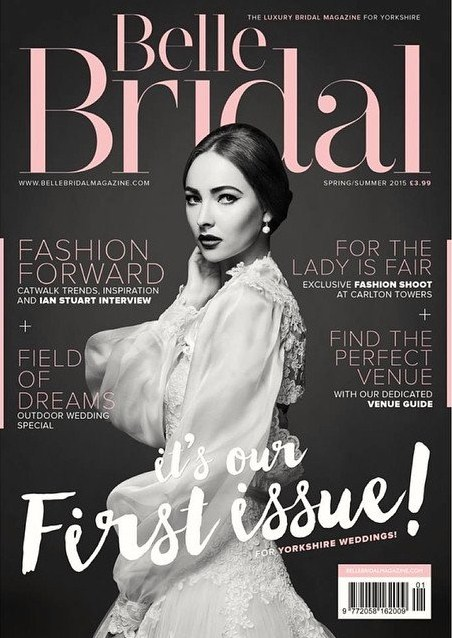 featured in belle bridal yorkshire