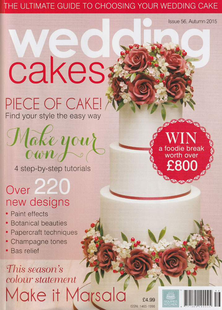 featured in Wedding Cakes Issue 56 Autumn 2015