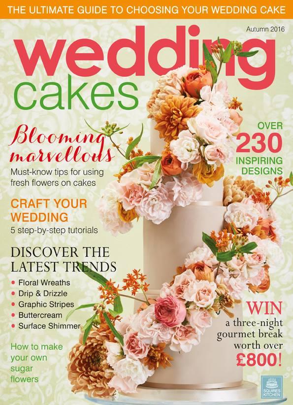 featured in wedding cakes magazine autumn 2016