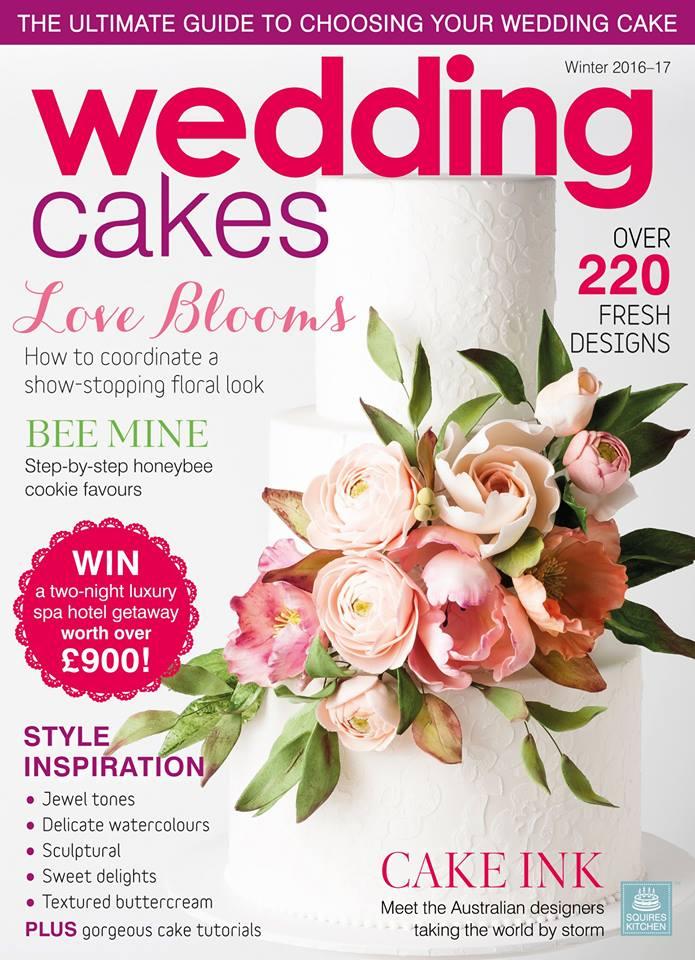 featured in wedding cakes magazine winter 2016 2017