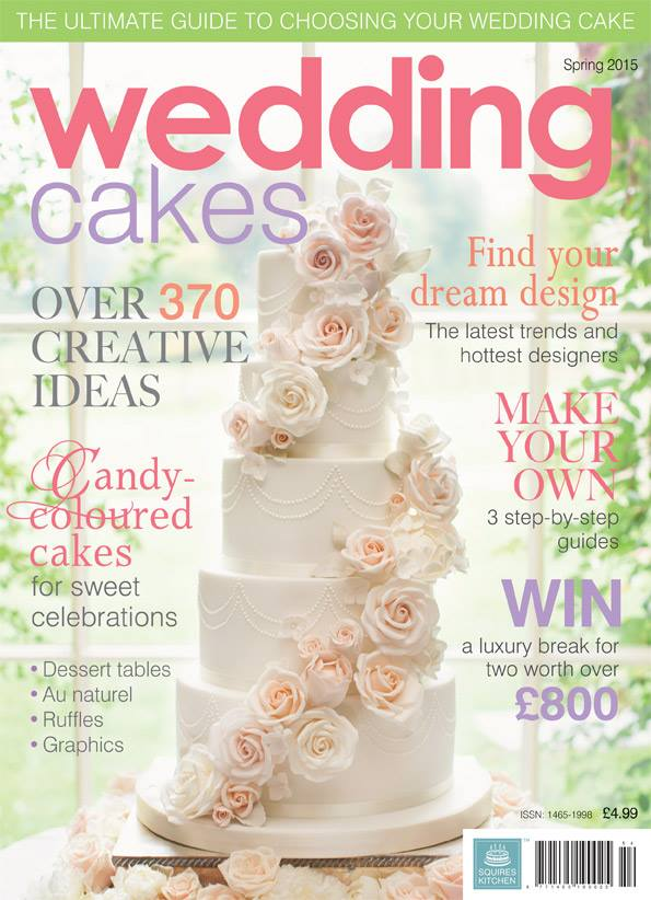 featured in wedding cakes magazine spring 2015