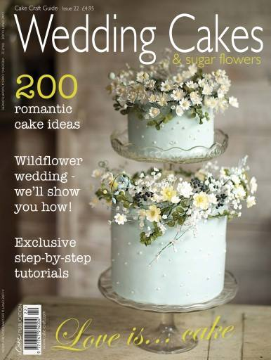 featured in wedding cakes and sugar flowers magazine issue 22