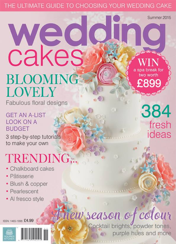 featured in wedding cakes magazine summer 2015