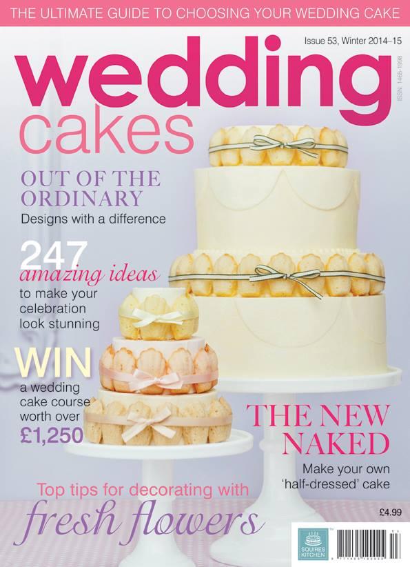 featured in wedding cakes magazine winter 2014