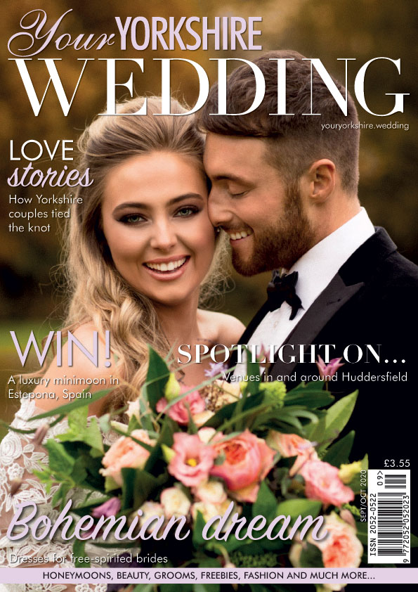 featured in Your Yorkshire Wedding September 2020