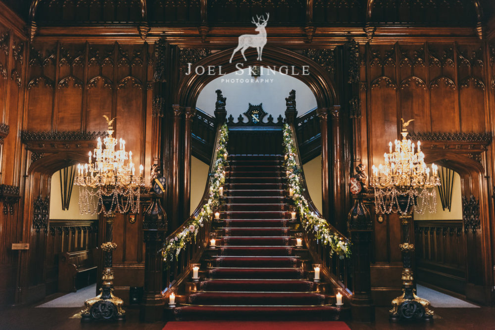 Allerton Castle Staircase