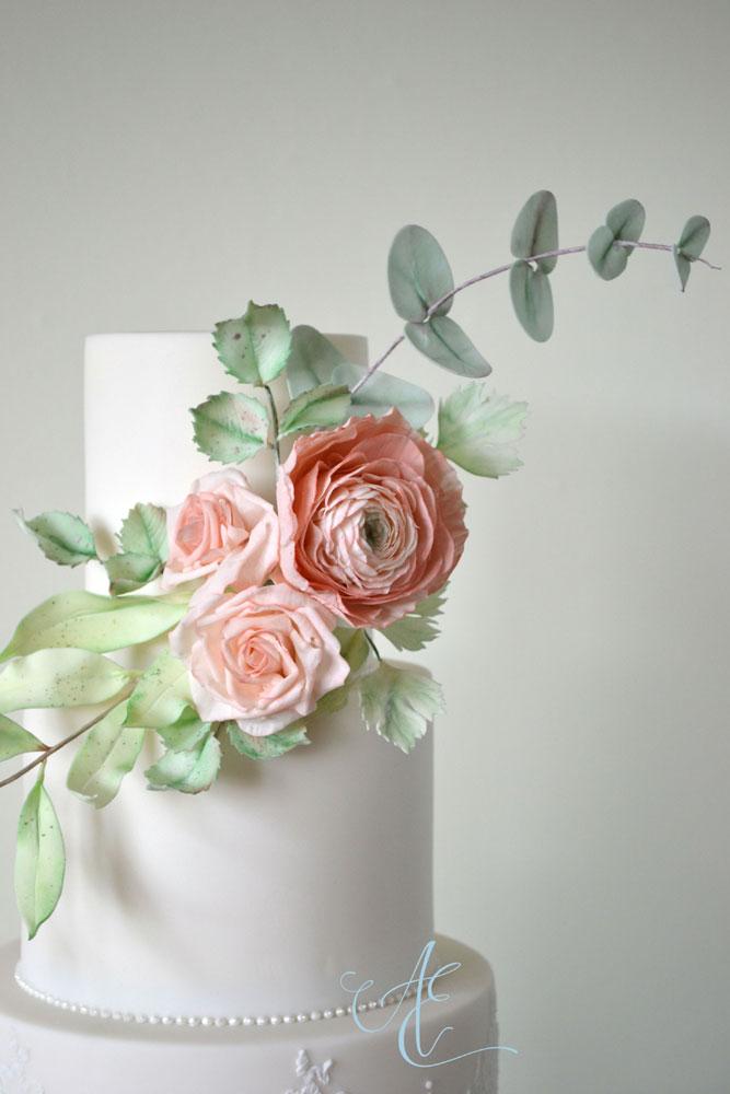 pastel sugar flowers