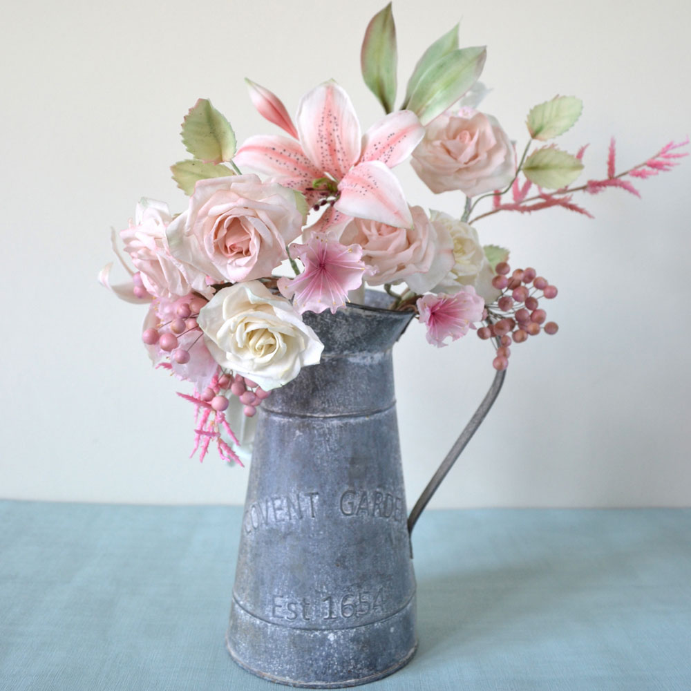 Vase of Sugar flowers