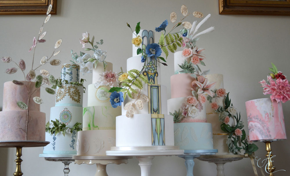 Amanda Earl Cake Design bespoke wedding cakes
