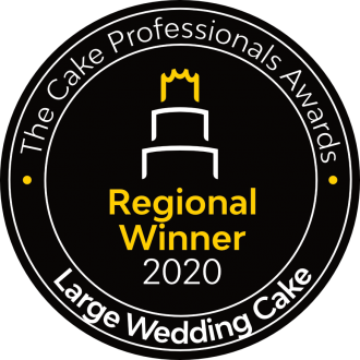 Regional Winner 2020 The Cake Professionals Awards Large Wedding Cake