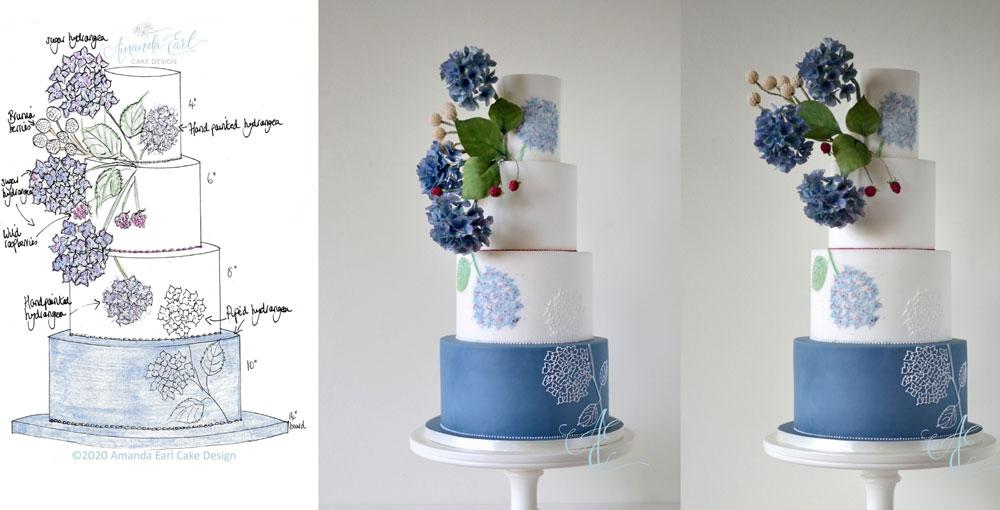 new wedding cake design