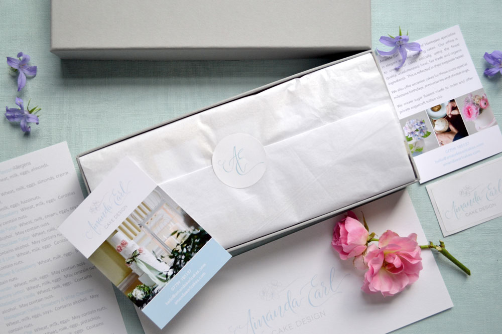 cake by post sustainable packaging