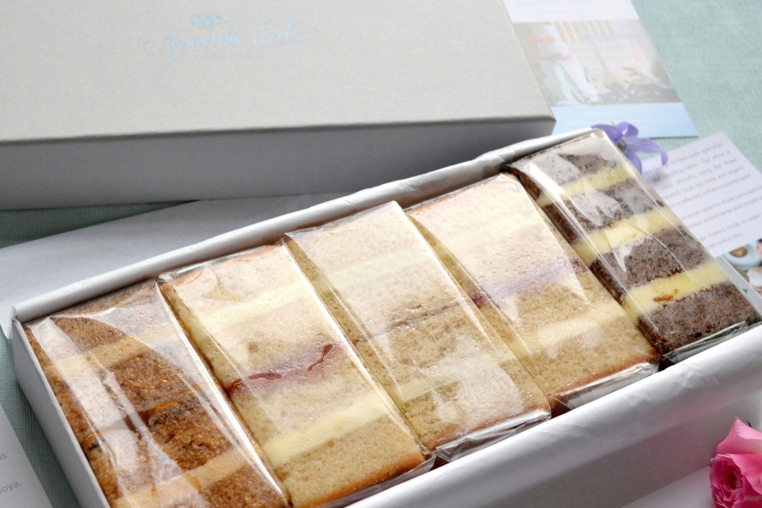 cake by post wedding cake samples