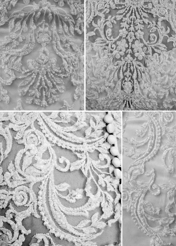 Essense of Australia Sydney wedding dress lace detail