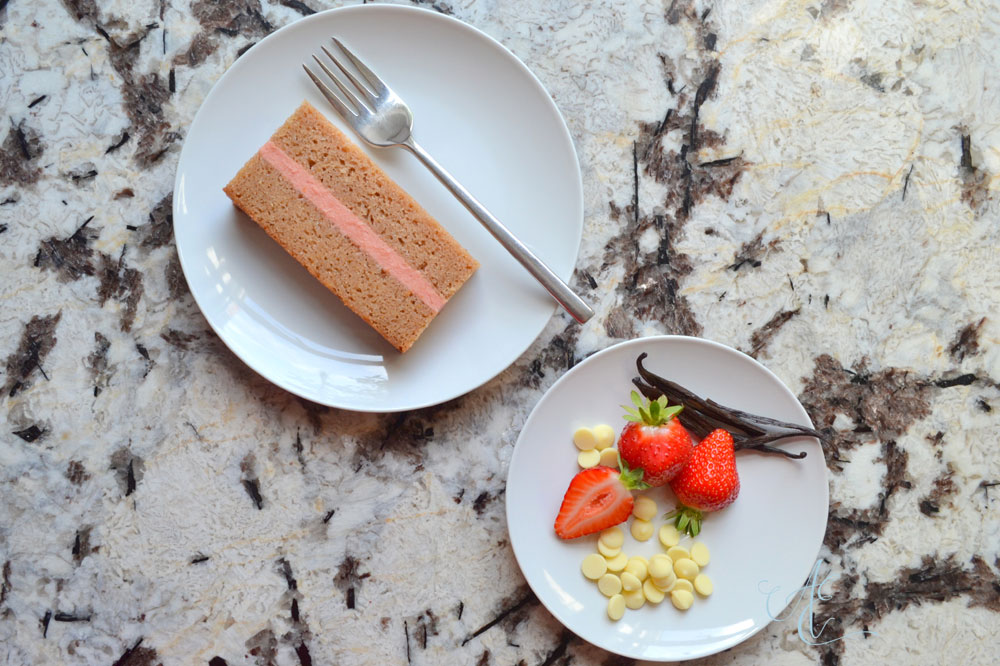 white chocolate strawberry vanilla